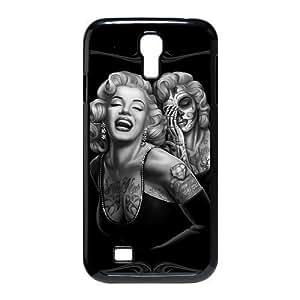Customize Zombie Marilyn Monroe Tattoos SamSung Galaxy S4 I9500 Back Case JNS4-1491