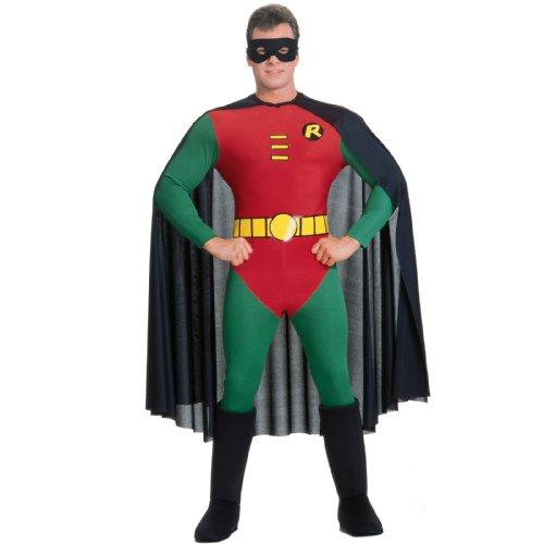 Batman DC Comics Robin DC Comics Version Adult Costume (Batman And Robin Shoes)