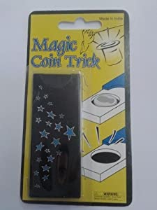 COIN SLIDE Magic Trick~Disappearing Coin in Case/Box~Easy to do~Beginners Trick by Bristol Novelties
