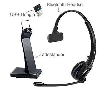 Sennheiser MB Pro 1 UC – Auriculares mono – inalámbrico – Bluetooth – 82 pies –