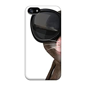 Scratch-proof Protection Case Cover For iphone 5c/ Hot Cool Mouse Phone Case