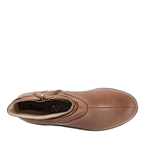Nappa Cognac Leather SoftWalk Soft Hanover AA Boot N 5 Women's 8 wqA6pWI