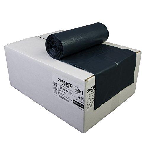 Consolidated Plastics 32 Gallon Heavy Duty Trash Liners, ...