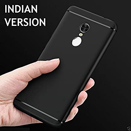 low priced 81fa3 1b2ef Audos Ultra Thin Matte Line Soft TPU Silicone Back Cover Case for Xiaomi  Redmi Note 4 (Indian Variant) (Black)