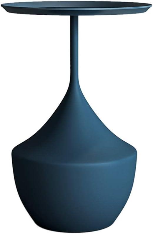 Goedkoopste Tafel Bijzettafel, Eenvoudig Dik Metalen Dienblad, Rond Nachtkastje, Salontafel, Bloemenstandaard, 48x60cm Picknicktafels (Color : Style2) Style6 QEh7dal