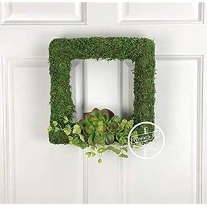 Square Succulent Wreath 89