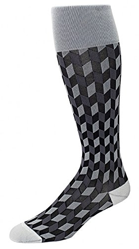 Price comparison product image RejuvaSocks Chevron Unisex Compression Socks (Small, Slate)