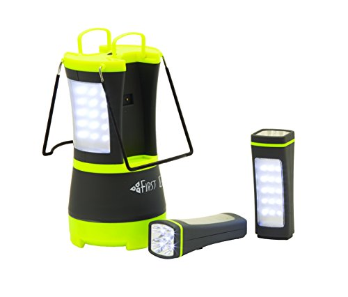 Texsport First Gear Battery Powered Gamma LED Lantern with Removable Flashlights by Texsport