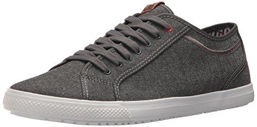 Ben Sherman Men's Chandler Lo Sneaker, Grey Chambray, 10.5 M US (Ben Sherman Mens)