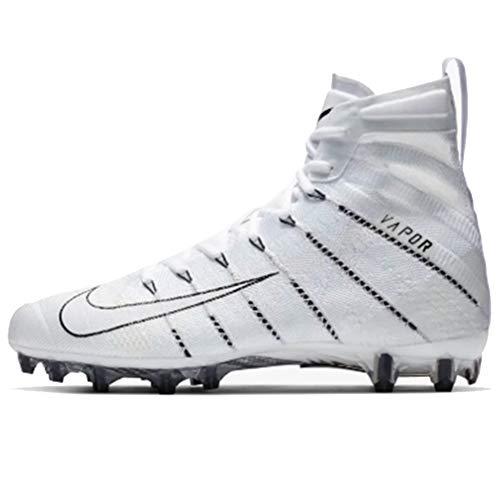 Nike Men's Vapor Untouchable 3 Elite Football Cleats (12M, White/Black)