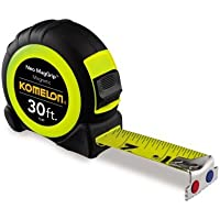 Komelon 7330 Neo MagGrip Tape Measure, 30-Feet by Komelon