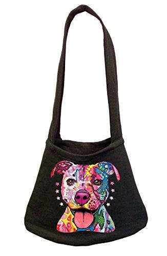 Cheap Neon Pitbull Women's Shoulder Bag Black (One Size, Black)