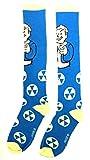 fall out boy merchandise - Fallout Vault Boy Winking Thumbs Up Knee High Socks