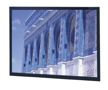 High Contrast Da-Mat Da-Snap Fixed Frame Screen - 37 1/2