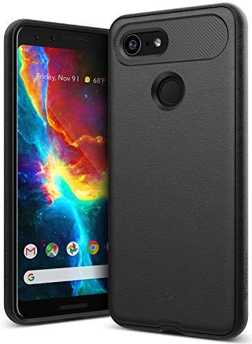 Caseology [Vault Series] Google Pixel 3 Case - [Rugged Matte Finish] - Black