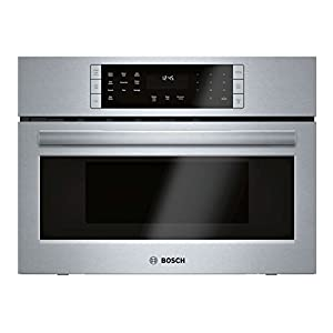 HMC87152UC Bosch 800 Series 27 Speed Oven SpeedChef Convection Cooking Stainless Steel Interior and UL Certified in Stainless Steel
