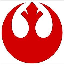 REBEL ALLIANCE - Star Wars , Vinyl Sticker Decal #A1463 (9\