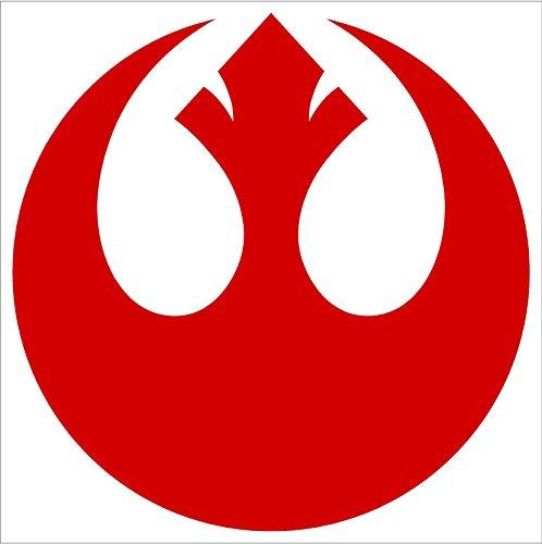 Star Wars Rebel Alliance Vinyl Decal Sticker (2