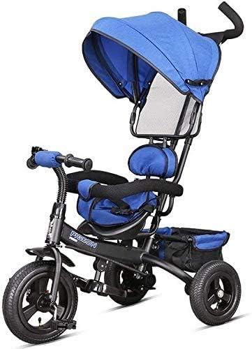 GPWDSN Versátil Bicicletas Cochecitos De Bebé del Cochecito De Niño De 1-5 Años/Familia Portátil 50x106cm (Color: Rojo)