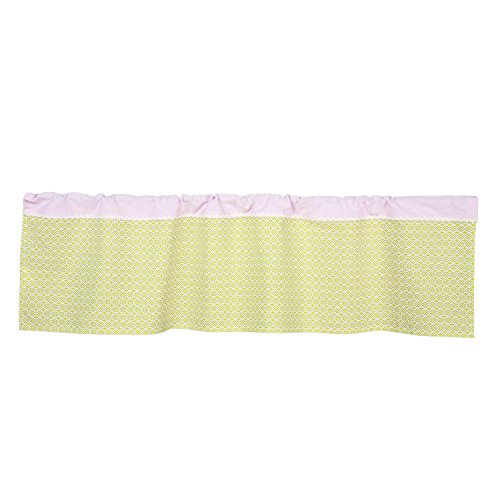 Lolli-Living-Poppy-Seed-Window-Valance--Morocco-Green-Cotton-Window-Treatment-Or-Accent-Curtain-For-Gender-Neutral-Baby-Nursery-Easy-Installation