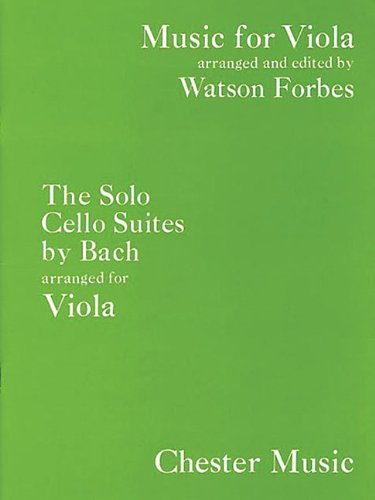 The Solo Cello Suites: Music for Viola Series