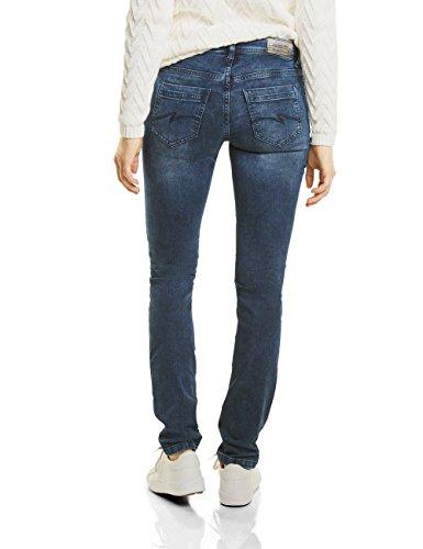Street Donna Slim Jeans Wash Vintage Blue One Blu 11228 dark nxxFfwW