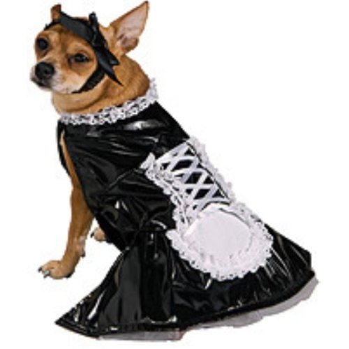 French Maid Pet Halloween Costume (Medium) (Bestfriend Costumes)