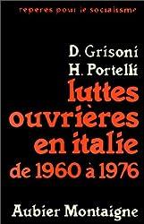 Luttes ouvrières en Italie de 1960 à 1976