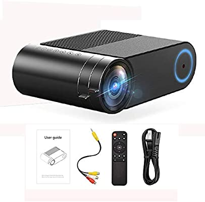 Augu Mini proyector Proyector casero HD Nativo 1280 * 720 P 1800 ...