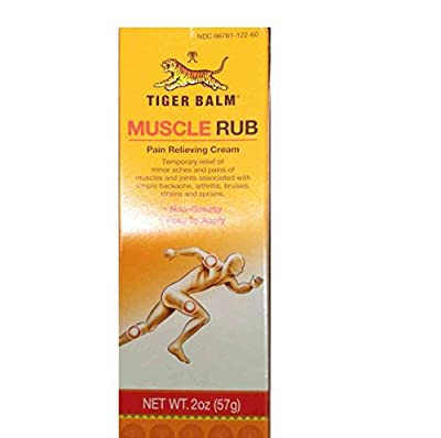 Tiger Balm Muscle Rub, 2-Ounce Tubes (Pack of 6)