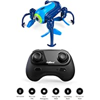 MAXXRACE U36W Mini RC Helicopter Drone with HD Camera 2.4Ghz 6-Axis Gyro 4 Channels Quadcopter Good Choice for Drone Training