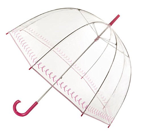 [totes Pink Ribbon Bubble Umbrella] (Ribbon Tote)