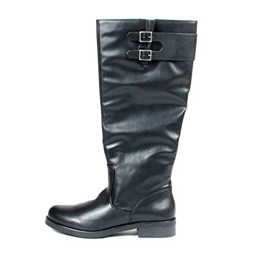 Kenneth Boot Cole Reaction Womens Kenneth Kentina Riding Cole Black Zwzq5nOPx