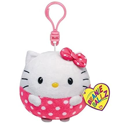 Ty Beanie Ballz Hello Kitty - Clip