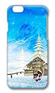 Adorable Happy Winter Christmas Hard Case Protective Shell Cell Phone Cover For Apple Iphone 6 Plus (5.5 Inch) - PC 3D by icecream design