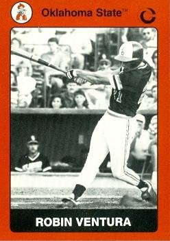 Amazoncom Robin Ventura Baseball Card Oklahoma State
