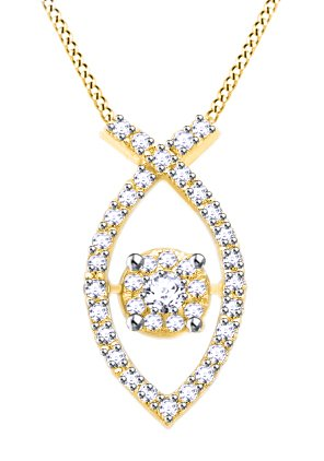 0.4 Ct Yellow Diamond - 9