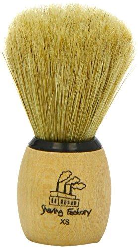 Shaving Factory handgemachter Rasierpinsel - Größe XS, 1er Pack (1 x 1 Stück)
