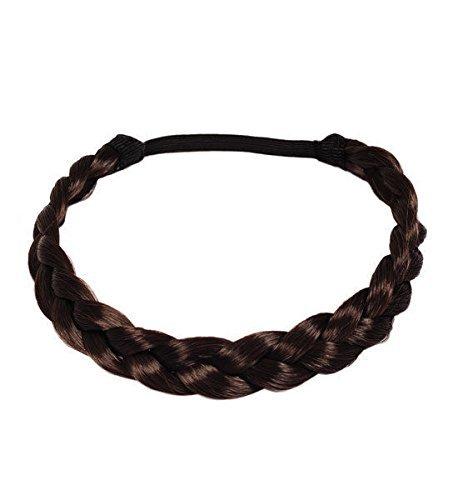 BRAID HAIR BAND CELEBRITY INSPIRED ADJUSTABLE FISHTAIL BRAIDED PLAITED HEADBAND by Fashion Jewellery (Celebrity Jewelry Inspired)