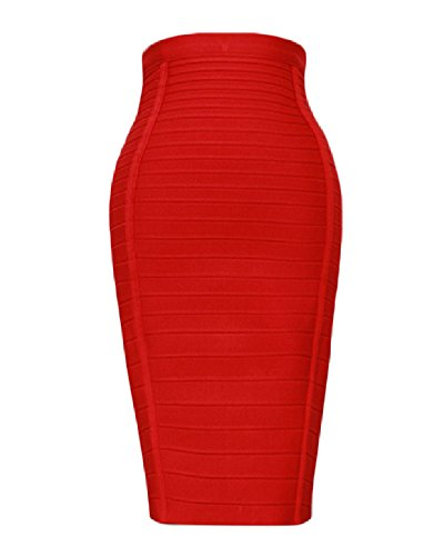 high waisted pencil dress - 4