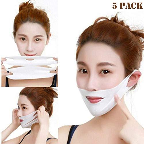 Biaoyun 2019 Miracle V-Shaped Slimming Mask (5PCS)