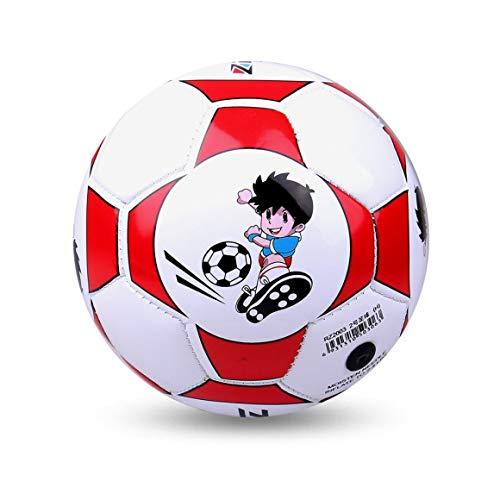 Tamaño Oficial 2 Cuero de PU estándar Fútbol Entrenamiento de balón de fútbol Interior al Aire Libre con Aguja Neta…
