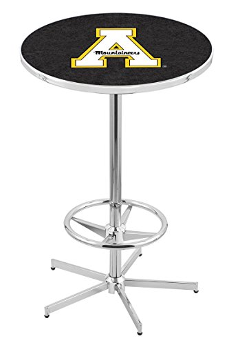 State Appalachian Table Game - Holland Bar Stool L216C Appalachian State University Officially Licensed Pub Table, 28