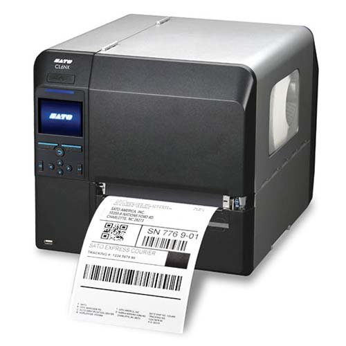 (Sato WWCL91061 Series CL6NX Industrial Thermal Transfer Printer, 305 dpi Resolution, 6.5