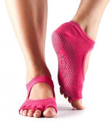 Calcetines de yoga y bailarina de media punta ToeSox: Amazon ...