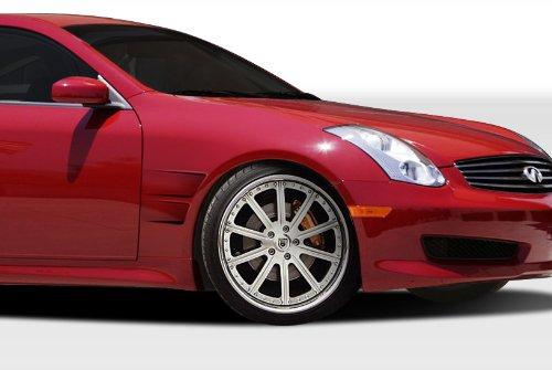 Fenders Duraflex Concept Gt (2003-2007 Infiniti G Coupe G35 Duraflex GT Concept Fenders - Duraflex Body Kits)
