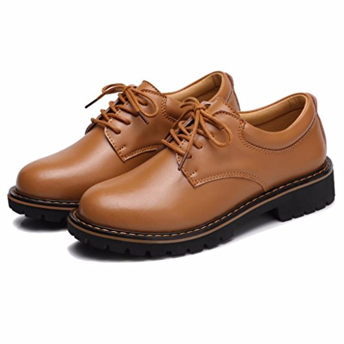 Derbies Oxfords Lacets Moonwalker En Cuir Femme À TnxgYnFqwd