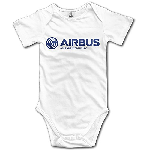airbus-logo-poy-sain-funny-newborn-baby-climb-jumpsuit-size12-months-white