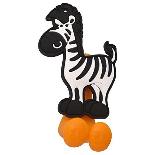 Buddyboo 145274 Tooth Brush Holder – Zebra (Black)