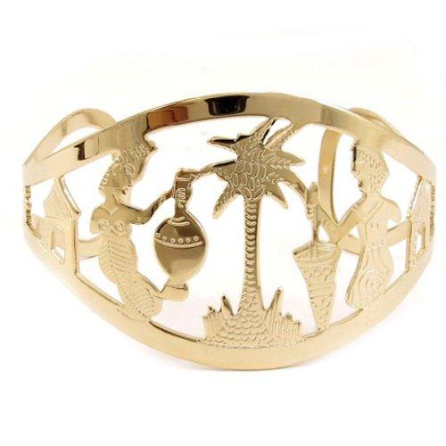Les Trésors De Lily [L0687] - Bracelet plaqué or 'Sous les Tropiques'